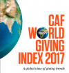 Summary of the latest CAF World giving Index